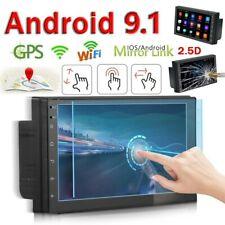 2Din 7'' Android 9.1 Car Radio GPS Navi WiFi Quad Core MP5 Player FM USB 1 + 16G