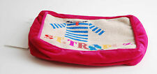 Jonathan Adler St. Tropez Accessories Bag Needlepoint Pink Cream Womens BCF58