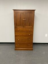 Ethan Allen American Impressions Armoire Chest of Drawers - Autumn Cherry