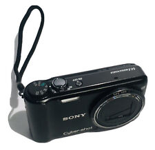 Sony Cyber-Shot DSC-H55 14.1MP Digital Camera - Black With Battery- Black