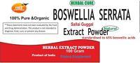 Boswellia Serrata extract Powder (Indian frankincense), Pure & High Quality