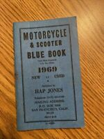 1969 Hap Jones Motorcycle Blue Book on New and Used Values