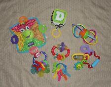 Lot of 7 Baby 0-6m Unisex/Neutral Toys Rattles/Teethers/Keys