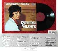 LP Caterina Valente: Die grossen Erfolge (Decca BLK 16 254-P) D 1965