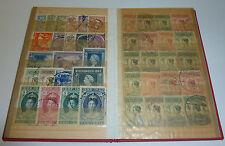 Niederländisch-Indien Briefmarken Sammlung im Album Nederlandsch Indie Ostindien