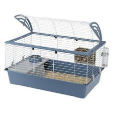 Ferplast Casa 100 Pet Cage Rabbits Guinea Pigs Blue