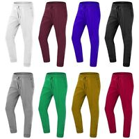 NEW Men Jogger Joggers Sweatpants Fleece ALL SIZES Trousers Elastic Sweatpants
