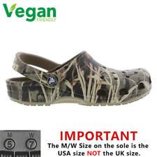Crocs Classic Realtree Clog Mens Vegan Slip On Sandals Shoes Size 7-12