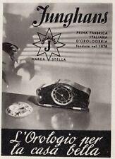 Z3746 JUNGHANS l'orologio per la casa bella  - Pubblicità d'epoca - 1940 old ad