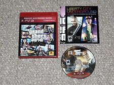 Grand Theft Auto: Episodes From Liberty City Sony PlayStation 3 PS3 Complete