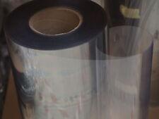 PET Folie 0,4 mm Breite 0,54 m hart transparent glasklar zum Thermoformen