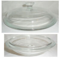 """UNMARKED GLASS LID Fits Corning Ware 1 1/2 qt Casserole - Replacement 7-1/2"""" Lid"""