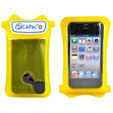 DiCAPac WP-i10 100% Waterproof Case For iPhone 4 4S 3G 3SG Yellow
