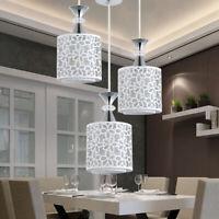 LED Deckenlampe Kristall Pendellampe Lampenschirm Hängelampe E27 Beleuchtung DE