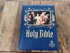 Family Holy Bible Masonic Master Reference Edition Heirloom Red Letter 1988
