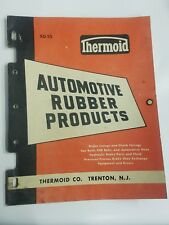 1955 Thermoid Automotive Rubber Products Catalog