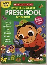 Scholastic Little Skill Seekers: Preschool Workbook Paperback - NEW