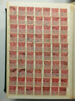 CMS11) Australia Collection 1914 1d Reds, Single Wmk
