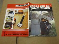 FORZA MILAN N°2 FEBBRAIO 1971 ROCCO BOFFI PRATI CASSINARI RIVERA