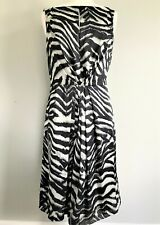 Women's JONES OF NEW YORK Sleeveless Fit & Flare Dress, Animal Print, Size 14