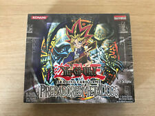 YuGiOh Metal Raiders 1st Edition Booster Box - Brand New & Sealed (Portuguese)