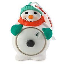 Countdown to Christmas 2015 Hallmark Ornament - Snowman - Digital Countdown