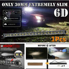 "34cm /13.4"" 120W Car SUV Off-Road Roof Driving Fog Lamp Flood LED Work Light Bar"