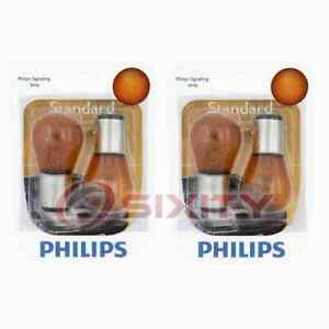 2 pc Philips Parking Light Bulbs for Ford Contour Cougar Ghia Mustang Taurus id