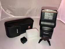 New listing Sony Hvl F42Am Shoe Mount Flash w/ Multi-Interface Shoe Adapter & Diffuser