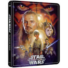 STAR WARS EP I THE PHANTOM MENACE 4K + BD STEELBOOK ZAVVI EXCLUSIVE [UK]