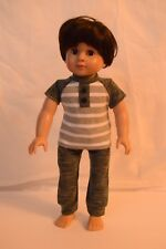 """18"""" Doll Boy Clothes for Logan or OG Boy Doll - Every day Outfit Comfy Hangout"""