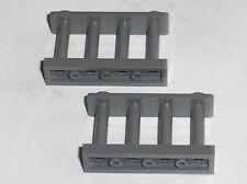 2 x Barrière LEGO DkStone Fence 30055 / set 8211 7721 6194 8894 7743 9314 7048..