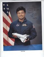 Leroy Chiao Signed 8x10 Photograph BAS C77355 STS-65, STS-92, STS-72 Chinese