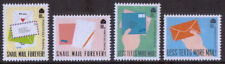 GB 2018 Positively Postal u/m mnh Cinderella stamps x 4 - Snail Mail Forever!