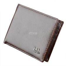 Mens Business Leather Wallet Coin Pocket Card Holder Clutch Bifold Purse new