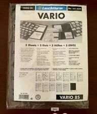 Vario Stock Sheets Style 8S - Two-Sided Five Pocket