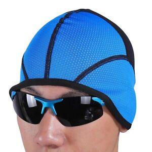 Arsuxeo Thermal Fleece Cycling Caps MTB Bike Windproof Hats Running Cap Size L