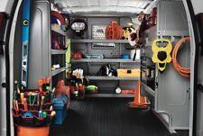 Rear Cargo Area FLOOR LINER Mat (Ford Econoline Van) Black Rubber Bay Protector