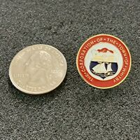 The Town of Whitby Ontario Canada City Seal Travel Souvenir Pin Pinback #38361