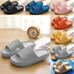 PILLOW SLIDES Sandals Ultra-Soft Slippers Extra Soft Cloud Shoes Anti-Slip US