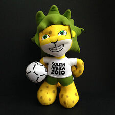 OFFICIAL ZAKUMI FIFA WORLD CUP 2010 MASCOT PLUSH TOY SOUTH AFRICA 12""