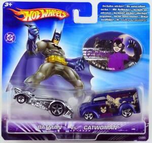 Batman vs. Catwomen - Hot Wheels Mattel C5365-0515 - OVP factory sealed