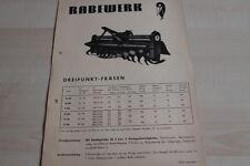 144156) Rabewerk Dreipunkt-Fräsen Prospekt 197?