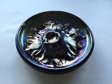 Mount St. Helens 1980 Volcanic Ash Glass Dish/Ashtray (very unique)