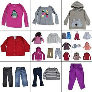 Lot 27 Girls Winter Clothing Bundle Size 3T Toddler Warm Tops Pants Coats Jeans