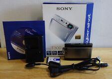Sony Cyber-shot DSC-T300 10.1MP Digital Camera - Black