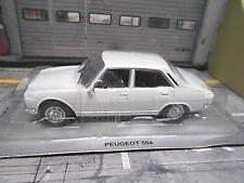 PEUGEOT 504 Limousine 4 Türer 1968 - 1975 weiss white Altaya IXO S-Preis 1:43