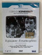02318 DVD I Grandi Sceneggiati RAI - Il giocatore / Il marito geloso (2 Dischi)