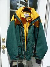 Green Bay Packers Champion XL Insulated 100% Nylon Jacket In Good Condition