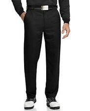 NWT $85 Greg Norman golf Luxe Slim Flat Front 80/20 BLACK  Dress Pants 40x30